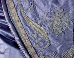 manteau de cour court train centraal museum utrecht cmu bonaparte napoleon josephine hortense 19th century french europeana fashion
