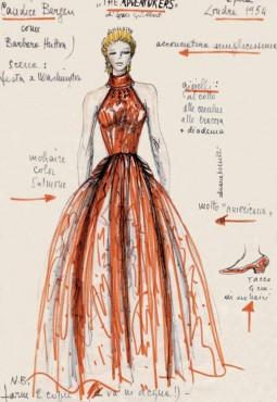 europeana fashion Bozzetto di Adriana Berselli Adventurese associate partner biblioteca library luigi chiarini