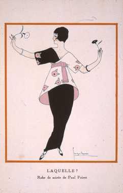 fashion illustration 1920s gazette du bon ton paul poiret europeana fashion