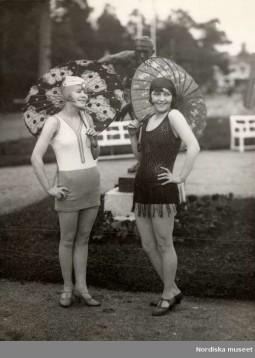 europeana fashion 1920s swimwear nordiska museet