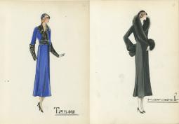 europeana fashion kunstbibliothek state museums berlin Staatlichen Museen bernard cie hirsch paris 1920s
