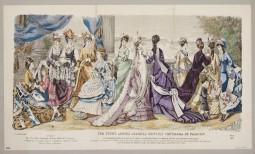 V&A Europeana Fashion party illustration