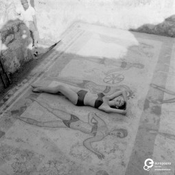 Bikini designed by Emilio Pucci, 1956. Emilio Pucci Archive, all rights reserved.