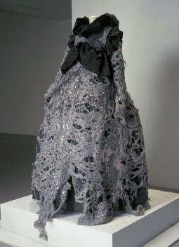 Evening gown designed by Viktor&Rolf for international contest in Hyères, France. 1993. Courtesy of Centraal Museum