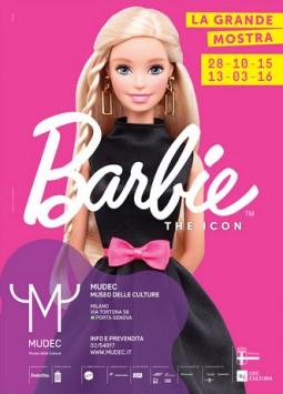 """""""Barbie - The Icon"""" at MUDEC."""
