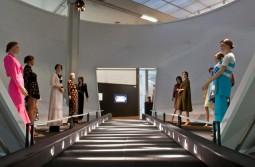 Exhibition Elio Berhanyer at Museo del Traje. Courtesy of Museo del Traje