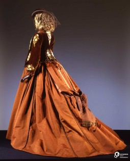 """Costume for the character of Elizabeth, played by Romy Schneider, in Luchino Visconti's """"Ludwig"""", 1973. Collection Galleria del Costume di Palazzo Pitti. All rights reserved."""