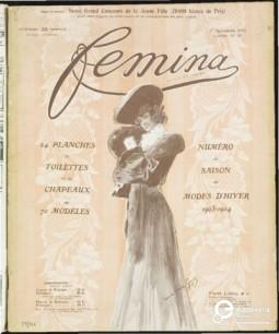 Femina - issue Nov. 1, 1903. Courtesy of ModeMuseum Provincie Antwerpen. All rights reserved