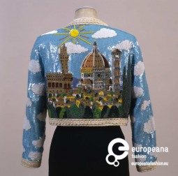 Jacket from Moschino 'Cruise me Baby' collection, S/S 1993, Courtesy Galleria del Costume di Palazzo Pitti