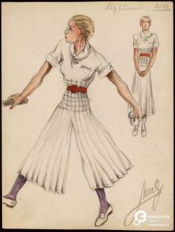 Sport ensemble by Jean Patou and Muguette Buhler, ca. 1934, Courtesy Les Arts Decoratifs, all rights reserved