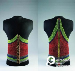 Male bodice made of glass beads, leather and metal, Courtesy the Israel Museum, All Rights Reserved