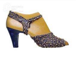 """""""Nodini"""" Sandal by Salvatore Ferragamo,1939. Courtesy of Museo Salvatore Ferragamo"""