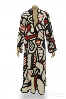 Maxidress designed by Dubuffet, 1973. Courtesy of Les Arts Décoratifs, Paris. All rights reserved