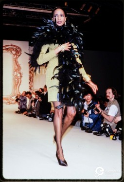 Christian Dior fashion show, A/W 1989/1990, photo Courtesy Paul van Riel, All Rights Reserved