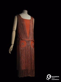 Robe du Soir by Madeline Vionnet, 1925, Courtesy Les Arts Decoratifs, All Rights Reserved