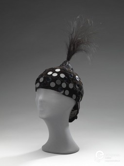 Hat designed by Max Hyemens, 1950s. Courtesy Amsterdam Museum, all rights reserved.